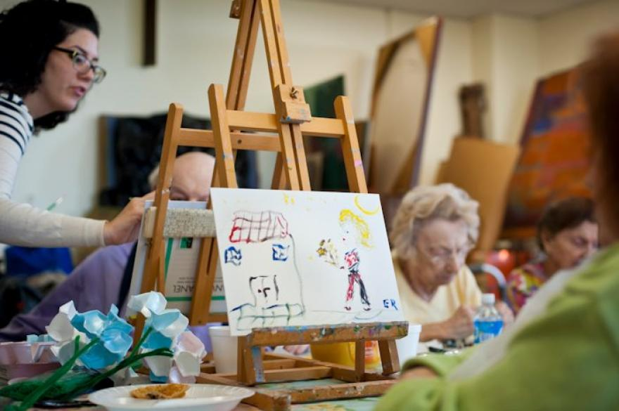 Friendly Visiting for Holocaust Survivors Crafts Group