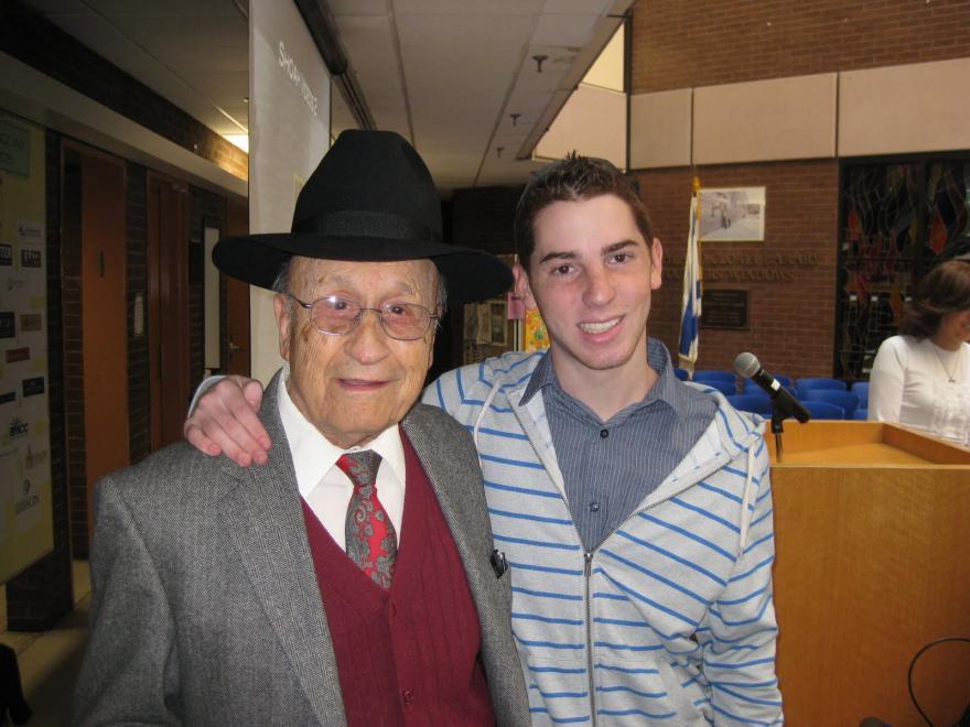 Yom Hashoa at Magen David Yeshiva HS - 4/20/2012